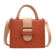 new Vintage Fashion Handbags 2019 PU Leather Womens Designer Handbag Matte Stereotypes Ahoulder bag Square Phone