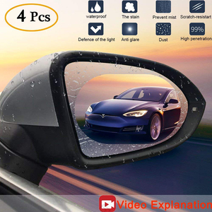 2PCS Car Rearview Mirror Prote