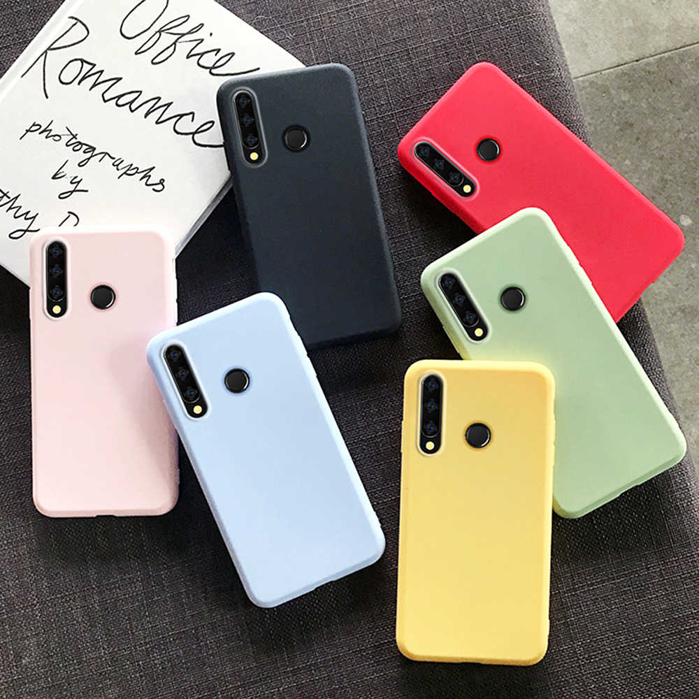 Case Voor Huawei P30 Lite P30Lite P20 Pro P40 Honor 9A 20 9 9X 10i Mate 10 8A 8S 9C E Case Ultra Dunne Tpu Soft Silicone Cover