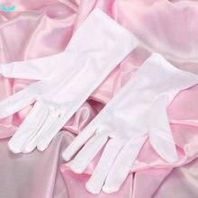 1 пара тонкие хлопковые рабочие белые ручные хозяйственные перчатки