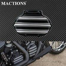 Motorrad Übertragung Kabel Kupplung Abdeckung Schwarz Für Harley Touring Electra Glide Twin Cam Dyna Wide Glide Softail Fat Boy 08 13