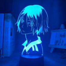 Haikyu! Светодиодный ночной Светильник аниме Kozume Kenma лампы для украшения в спальню ночной Светильник для детей подарок на день рождения кошма ...