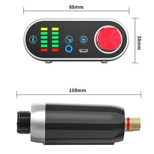 Image 2 - Bluetooth 5.0 HiFi TPA3116 Power Amplifier Digital Amp Board 50W*2 Stereo With Audio Indicator Music Spectrum