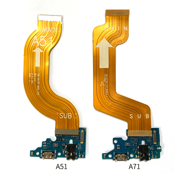 For Samsung A51 A515 A71 A715 A31 A315 A41 A415 A21S A21 USB Charging Dock Port  Connector Main Motherboard Flex Cable 1