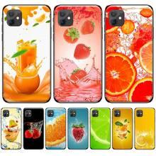 цена Summer Fruit Strawberry Pattern Phone Case For iphone 4 4s 5 5s 5c se 6 6s 7 8 plus x xs xr 11 pro max онлайн в 2017 году