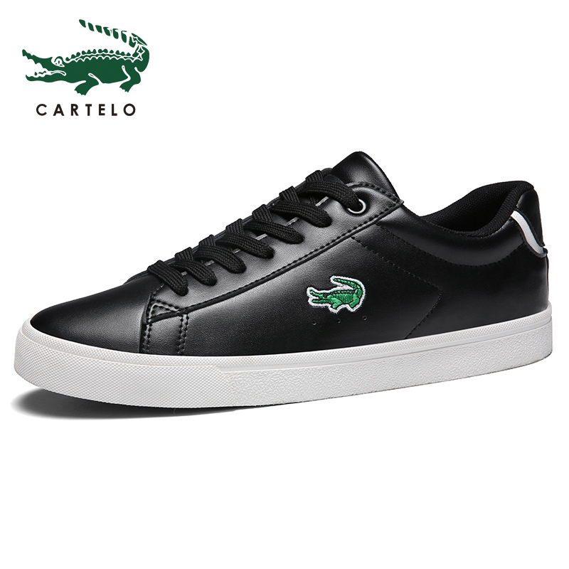 CARTELO scarpe da uomo casual nuovo modo di autunno scarpe bianche da uomo versione coreana del trend selvaggio zapatillas hombre non-slip di usura