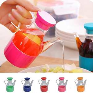 Oil-Bottle Storage Vinegar-Sauce Kitchen-Gadgets Hot-Sell Leak-Proof-Oil 1pcs Five-Colors