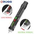 Oauee AC1010 Интеллектуальный Бесконтактный перьевой индикатор напряжения переменного тока