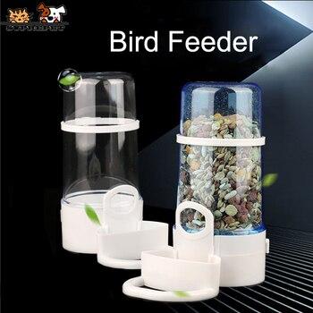 SUPREPET Pet Bird Feeder Water Food Bird Feeder Outdoor Plastic Automatic Bird Feeder Parrot Cage Food Container Bird Feeder handcrafted beaded cat bird feeder