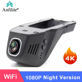 Anfilite 10pcs 1080P 4K WiFi Car DVR Camera Novatek 96660 Universal Dashcam 2160P Video truck Recorder Registrator Night Version image