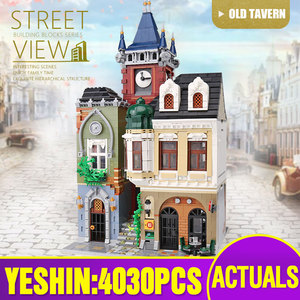 Image 4 - MOC 10218 Streetview Building Blocks Compatible With MOC 18923 Book Shop Old Town Pub Victors Lab Set As Kids Christmas Gifts