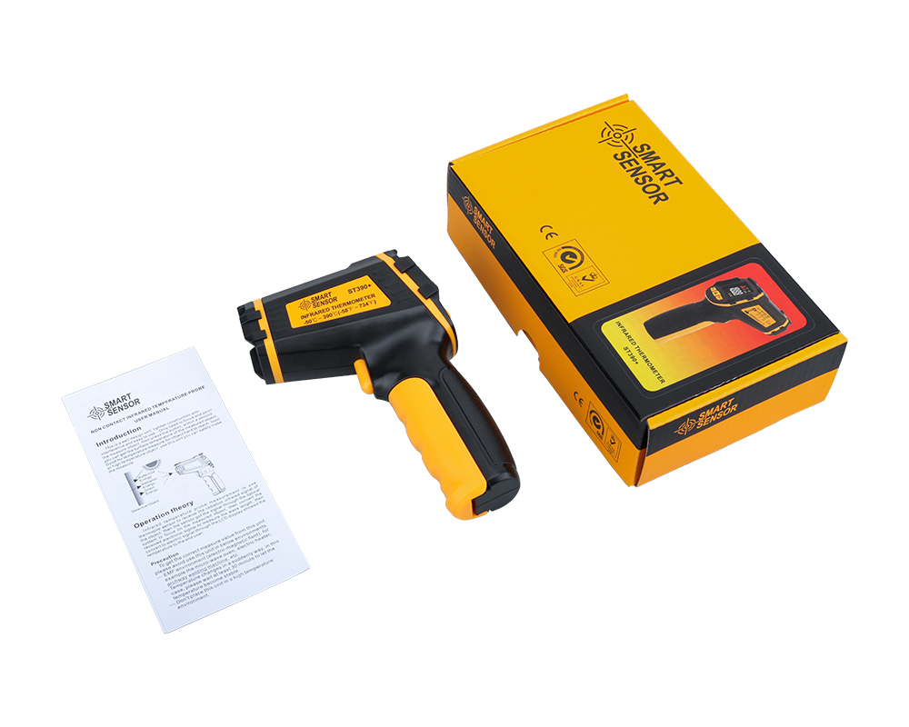 Non Contact Infrared Thermometer Gun to Measure Surface Temperature of Hazardous Object 23