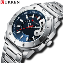 CURREN Men's Watch New and Chic Business Quartz Watches Stai