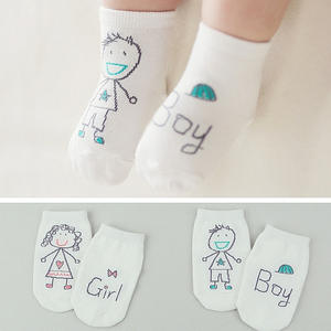 New Arrival Baby Socks Boy Girl Senteces Cute Cartoon Socks For Newborn Infants Toddlers