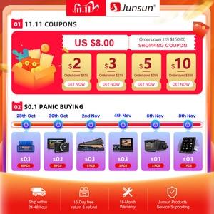 Image 2 - Junsun V1 2G + 32G Android 10 4G Auto Radio Multimedia Audio Player Gps Navigatie Voor Hyundai solaris 2 Verna 2017 2018 Geen 2 Din