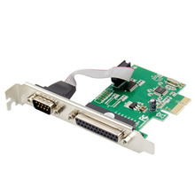 Combination-Control-Card LPT Expansion-Card PC Multi-Serial-Port PCI-E RS-232 for CH382L