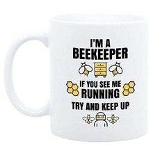 Taza de café de apicultor de 11oz, regalo divertido para el apicultor, soy una taza de apicultor, taza de café de abeja de miel, regalo de cumpleaños para el apicultor, Sav