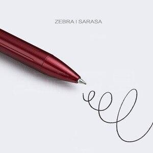 Image 5 - زيبرا JJ55 الأعمال المعدنية التوقيع هلام القلم الطالب امتحان القلم طبعة محدودة الراقية قلم هدية 0.5 مللي متر
