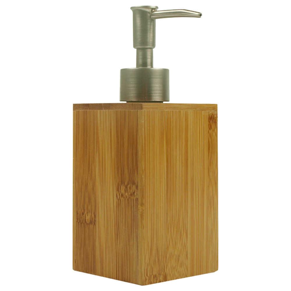 500mL אמבטיה במבוק קרם שמפו Dispenser בקבוק מטבח יד סבון Dispenser