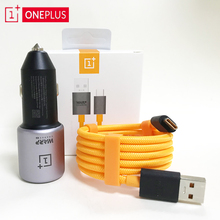 OnePlus Warp Charge 30 Car Charger 30W 5V/6A Warp Charge 6A 100CM Usb Mclaren cable for oneplus 7 7t pro 6t 6 5t 5 3t 3