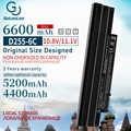 6 cellules batterie d'ordinateur portable pour Acer AL10B31 AL10G31 D270 D260 AOD255 AOD260 522 D255 722 D255E D257 D257E D270 E100 AL10A31 ICR17/65