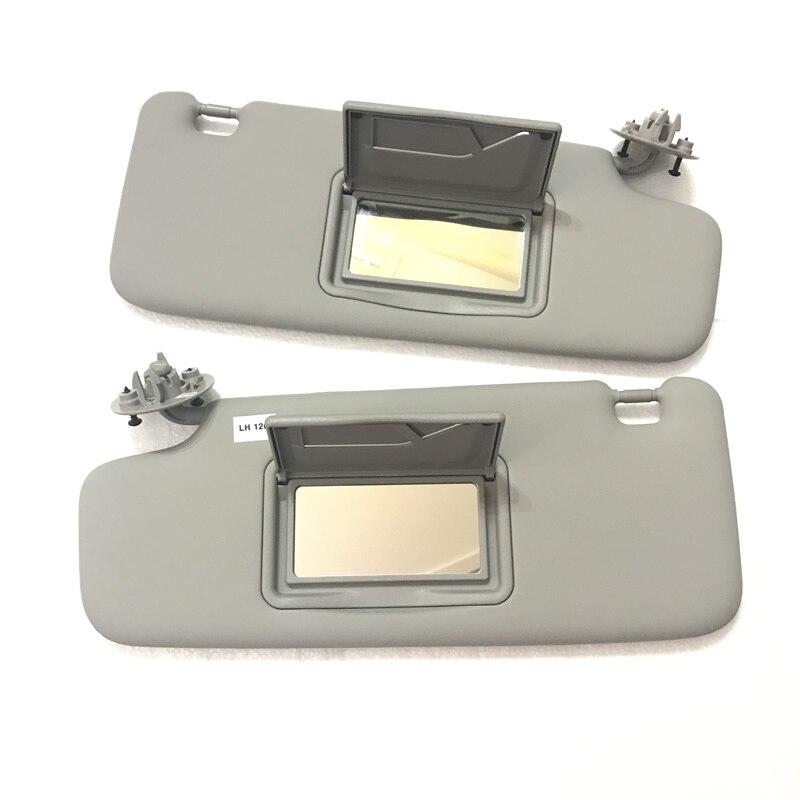 SKTOO accessori Auto Con un trucco da sole a specchio visiera per Chevrolet Spark 2011-2016 per il trucco cintura specchio di sole-ombreggiatura