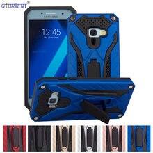 Stand Armor Cover Voor Samsung Galaxy J7 Prime 2 On7 2016 Bumper Case SM-G610F/Ds SM-G610M SM-G611F Voorzien Telefoon gevallen J7 Prime2