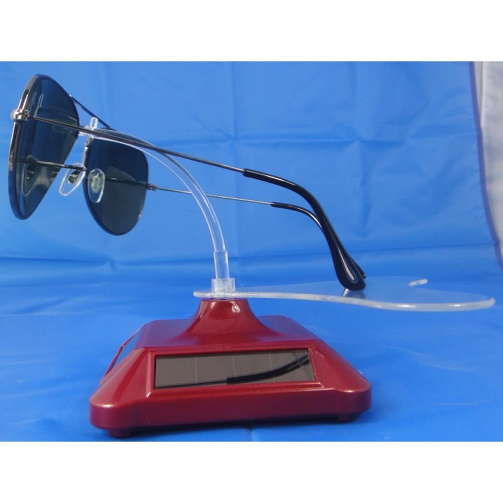 Solar Showcase 360 Degree Display Stand Rotating Sunglasses Glasses Show Holder