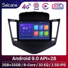 Seicane 9 Zoll Android 9,0 Multimedia Player Für 2013 2014 2015 Chevrolet Cruze GPS Navi 2din Auto Radio Touchscreen Kopf einheit