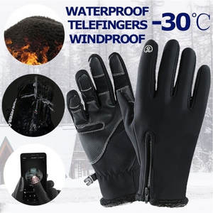 Winter Gloves Waterproof Mittens Warm Girls Women And Screen -J8