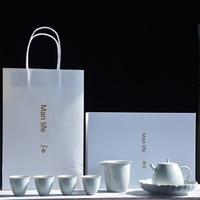 Japanese Kung Fu Tea A Cross Between A Small Teapot Set Temperature Teapot Set Tcup Kung Fu Tea Set Tea Sets Tea Set Porcelain
