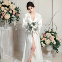 Bolero Mariage Jacket Bridal-Nightgown Party-Dress Morning-Wear Applique Wedding White