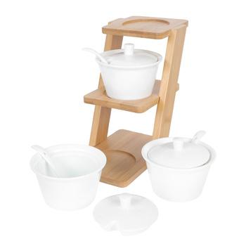 1 zestaw kreatywne pojemniki na przyprawy ceramiczne pojemniki na przyprawy ceramiczne pojemniki na przyprawy tanie i dobre opinie Other CN (pochodzenie) Spice Jar Kitchen Storage Jar Salt Jar Spice Container Spice Storage Jar