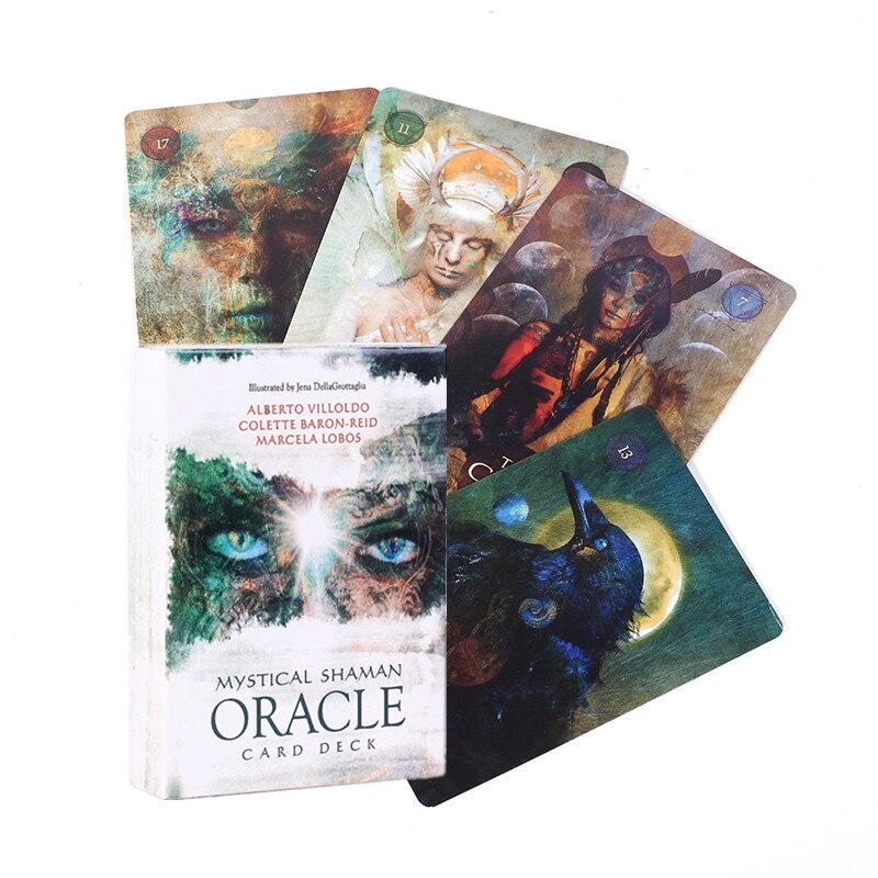 Juego de cartas místico de oráculo, cartas de Tarot, oráculo, juego de mesa, Juguetes Divertidos