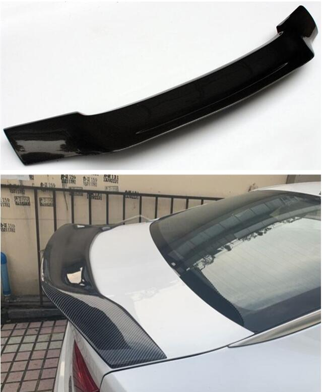 Высокое качество углеродного волокна и ABS заднего крыла багажник спойлер для Honda Accord 2014 2015 2016 2017 R Стиль по EMS