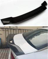 High Quality CARBON FIBER & ABS REAR WING TRUNK LIP SPOILER FOR Kia Honda Accord 2014 2015 2016 2017 R style BY EMS