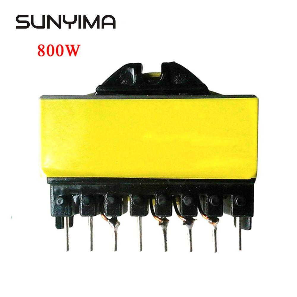Sunyima ec42 personalizado 800 w puro cupper alta-frequência inversor transformador de entrada dc12v