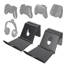 OIVO 2 Gói Treo Tường Bộ Điều Khiển Trò Chơi Đứng Giá Đỡ Cho PS4 Bộ Điều Khiển Tai Nghe Giá Đỡ Đa Năng Có Thể Gấp Lại Được Chơi Game Giá Đỡ