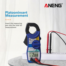 все цены на ANENG KT87N AC DC Current Clamp Meter Electrical Tester 600v true rms multimeter clamp pinza amperimetrica megger volt tester онлайн