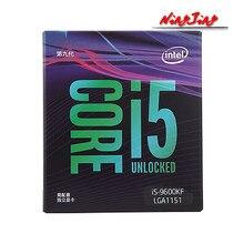 Intel core i5-9600KF i5 9600kf 3.7 ghz seis-núcleo processador cpu de seis linhas 9 m 95 w lga 1151 novo e selado mas sem refrigerador