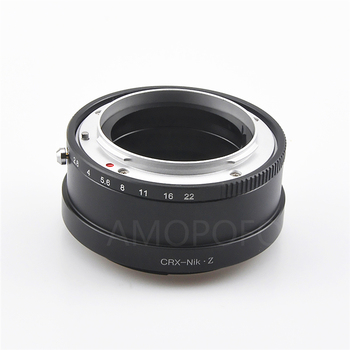 CRX to Nikon Z Lens adapter,Compatible with Contarex Mount Lens to & For Nikon Z Mount Mirrorless Camera Z50 Z6 Z7 фото