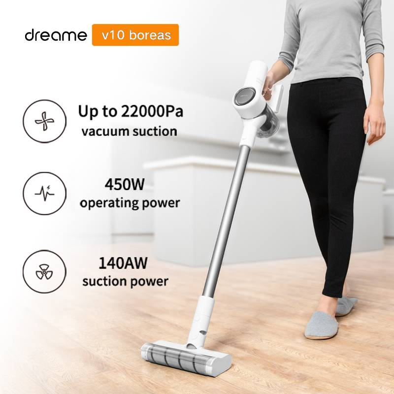 Dreame V10 Handheld Wireless Vacuum Cleaner Portable Cordless Cyclone Filter Carpet Dust Collector Carpet Sweep Home|Vacuum Cleaners| - AliExpress