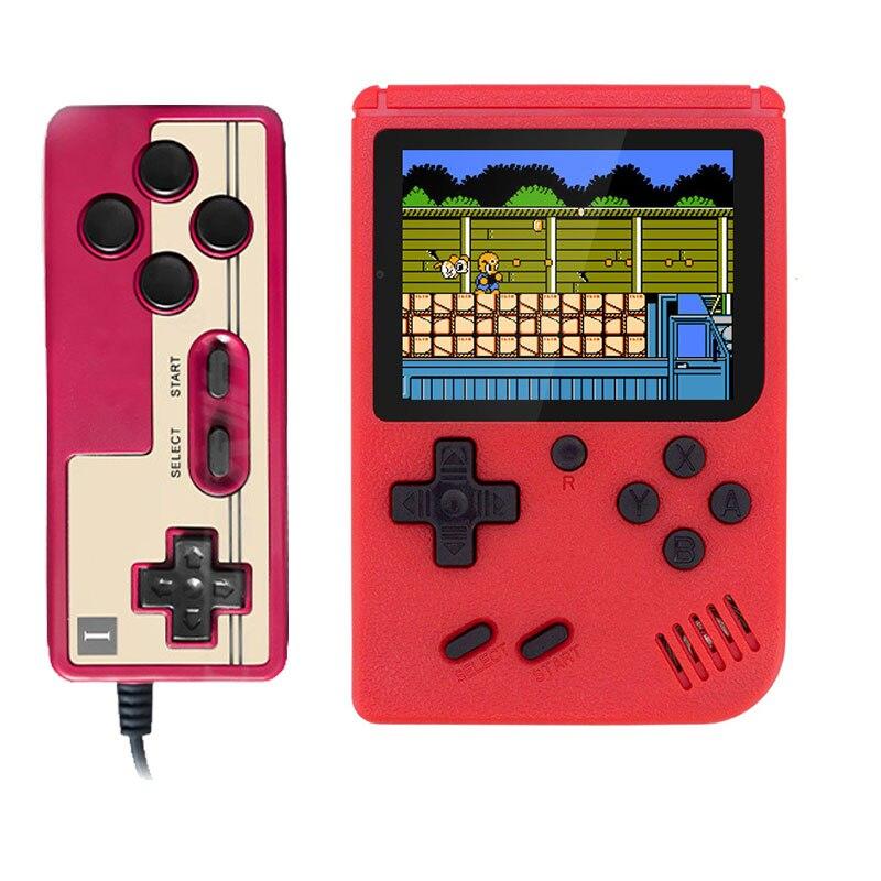 400 em 1 jogos mini handheld game player console de vídeo retro 8 bit 3.0