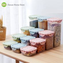 Food Storage Container Airtight Plastic Containers Sealed Cans Coarse Cereal Box