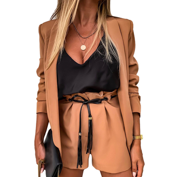 Women's Blazer Straight-Short Suits