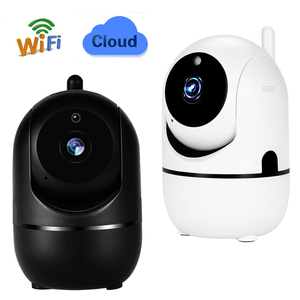 Cámara IP inalámbrica en la nube, Wifi, 1080P, inteligente para automóbil, seguimiento de seguridad humana para el hogar, sistema de vigilancia de red CCTV