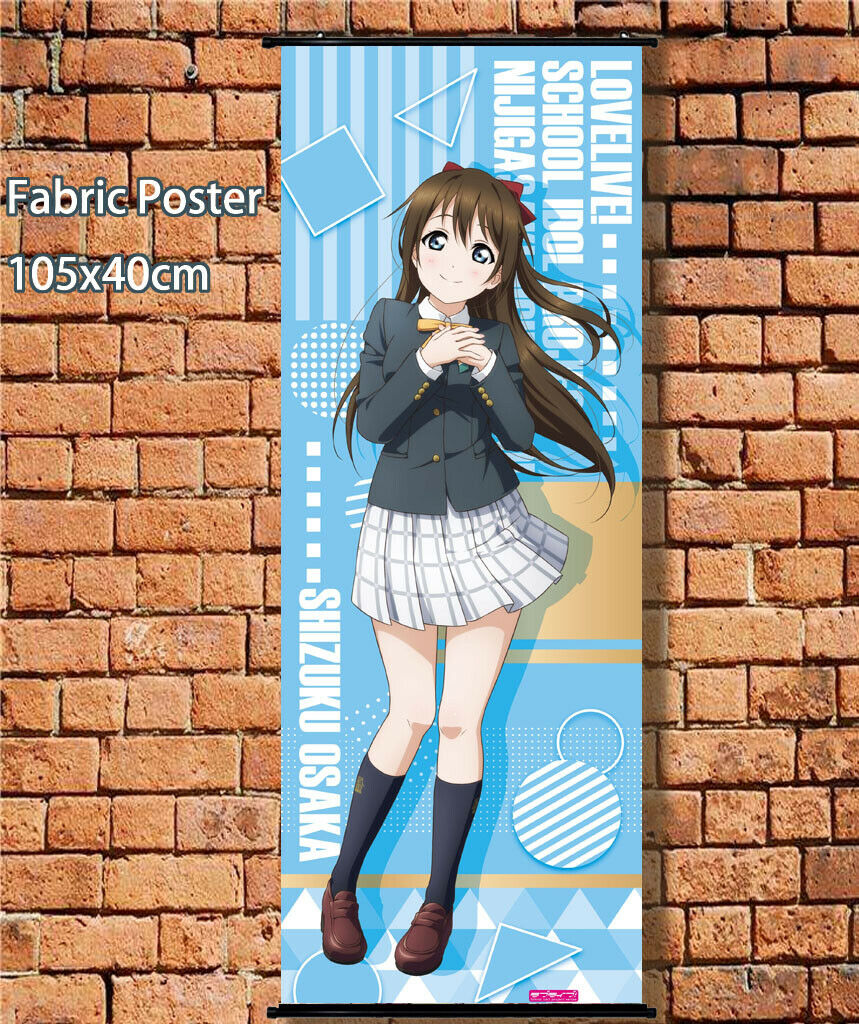Long Cloth Poster Wall Scroll Love Live School Idol Festival All Stars 105x40cm