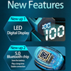 TWS Mini Bluetooth Earphone Wireless F9 Sport Waterproof 8D Stereo Sound Earphones HD Noise reduction Earbuds With Mic PK T5 F9 review