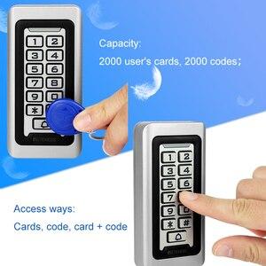 Image 5 - Retekess T AC03キーパッドrfidアクセス制御システム近接カードスタンドアロン2000ユーザードアアクセス制御防水金属ケース