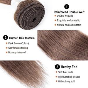 Image 3 - Bobbi Collection extensiones de cabello no Remy, marrón oscuro, 1B 27, rubio miel, indio